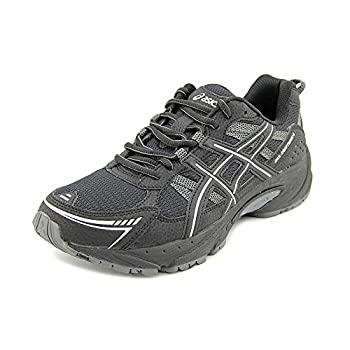 ASICS Men s Gel-Venture 4 4E Running Shoe,Black/Onyx/Silver,13 4E US