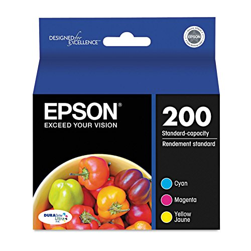 Epson Ink Cartridge, Standard Capacity, Multi Color (T200520)