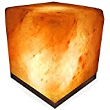 Crystal Allies Natural Himalayan Salt Lamp with Bulb, Dimmer Cord