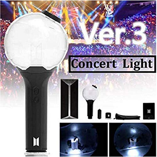 XYWN Kpop BTS Light Stick Con Bluetooth Ver.3 Army Bomb Bangtan Boys Concert Light Lights