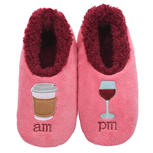 Snoozies Slippers for Women - Pairables Womens Slippers - AM/PM - Medium