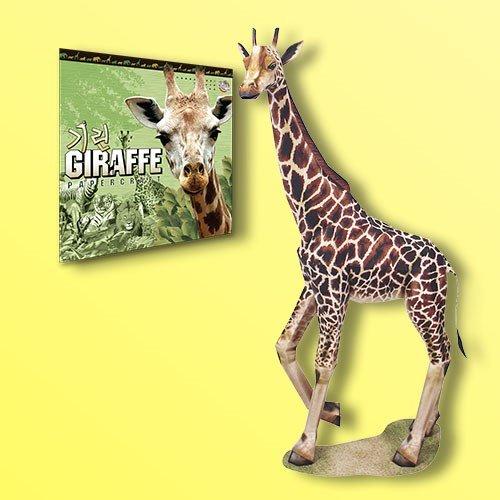 Papertoy - Solid model Giraffe