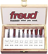 Freud 96-100 8-Piece Dovetail Incra Jig Router Bit Set with 1/4-Inch Shanks