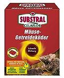 Substral Celaflor Mäuse-Getreideköder, Anwendungsfertiger, attraktiver Köder zur Bekämpfung von Mäusen mit Wirkstoff, 10 x 10 g Portionsbeutel