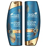 Head and Shoulders Anti Dandruff Treatment and Scalp Care Shampoo and Conditioner, Royal Oils Collection with Coconut Oil, Bundle