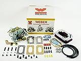 Weber Carburetor - 32/36 DGEV Suzuki Samurai with Air Filter K601 Carb Conver...