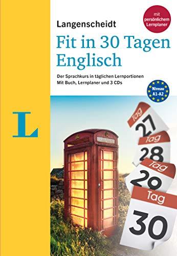 Langenscheidt Fit in 30 Tagen Englisch: Sprachkurs für Anfänger und Wiedereinsteiger mit Buch, 3...