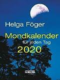 Mondkalender für jeden Tag 2020: Taschenkalender