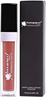 Ferrarucci Matte Long Lasting Lip Gloss - FLC03 Brown, 7ml