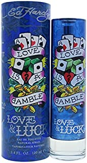 Ed Hardy Love & Luck for Men 3.4 oz 100 ml EDT Spray
