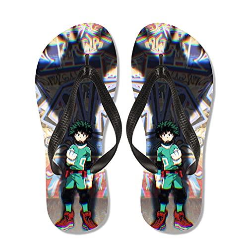 OUGEA Pantofole per Bambini My Hero Academia Anime Youth Infradito da Spiaggia antiscivolo-19_250mm