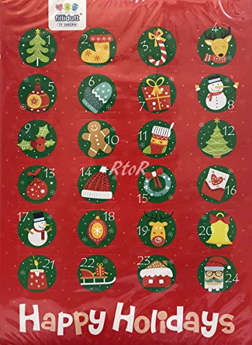 IKEA【アドベントカレンダー/カウントダウンカレンダー/チョコレート】 24粒(75g)イケア/ポーランド製