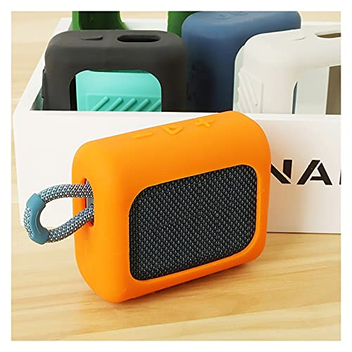 Altoparlante Custodia protettiva per cassa del silicone Cassa altoparlante per-jbl go 3 go3 altoparlante Bluetooth altoparlante portatile accessori per viaggi all'aperto altoparlante bluetooth