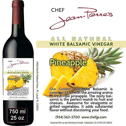 """Traditional Barrel aged 12 years """"Golden Pineapple White Balsamic"""" 100% ALL NATURAL White Italian vinegar 750ml (25oz)"""