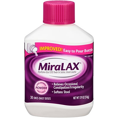 MiraLAX Powder 17.9 OZ - Buy Packs and SAVE (Pack of 2)