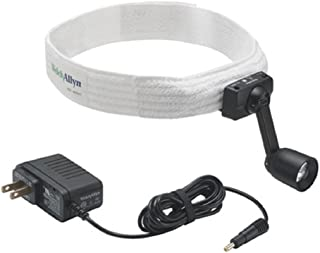 Welch Allyn 46070 GS Portable Headlight with Terrycloth Headband and Direct Power Supply/Charger