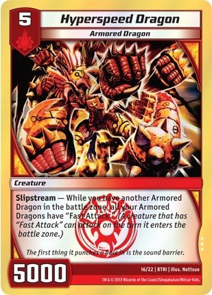 Kaijudo TCG - Hyperspeed Dragon (16/22) - Triple Strike by Kaijudo: Rise of the Duel Masters: Amazon.es: Juguetes y juegos