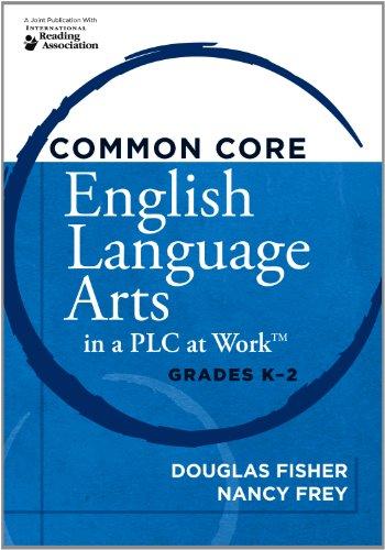 Common Core English Language Arts In A Plc At Work Grades K 2