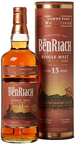 Benriach Tawny Port Finish 15 Years Whisky (1 x 0.7 l)