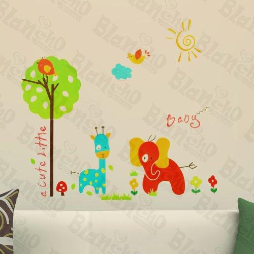 Animaux mignons – Patchs Rouge Stickers muraux Stickers Décoration intérieure