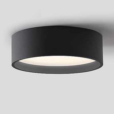 20W LED Plafonniers Le fer Cadre Plus Rond Lampe 390mm x 390mm LED Lampe de plafond pour Chambre, Salon, Couloir, Balcon et Espace de rangement Chambre