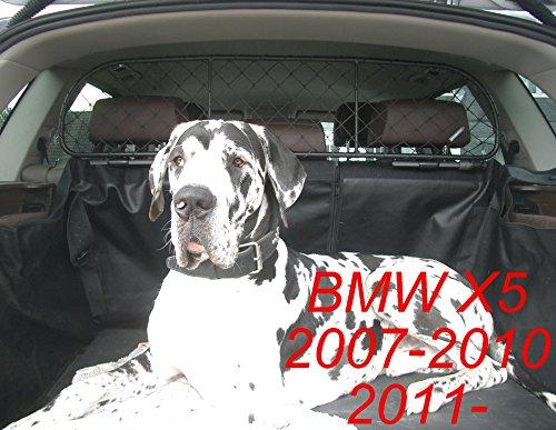 ERGOTECH Trennnetz Trenngitter Hundenetz Hundegitter für BMW X5 BJ 2007-2010 und ab BJ 2010-