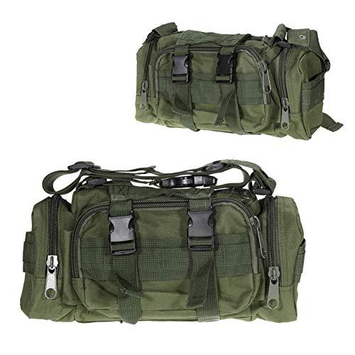 DWSLY De múltiples Fines Paquete de Cintura táctica Bolsa de cinturón Molino Molle Bolso Cartera Camping Al Aire Libre Camping Kits Bolsas Ayuda Survive Kit para Escalada al Aire Libre (Color : F)