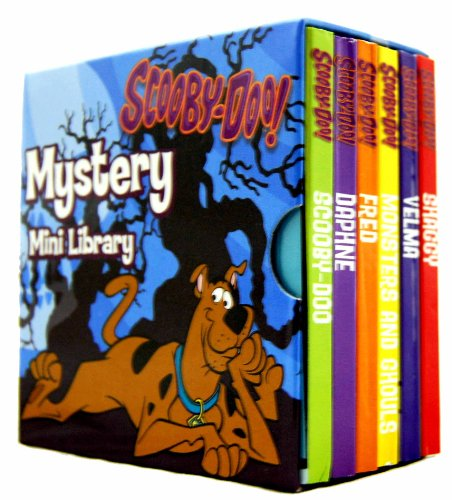 Set of 6 Books Including Shaggy, Velma, Monsters & Gouls, Fred, Daphne and Scooby-doo