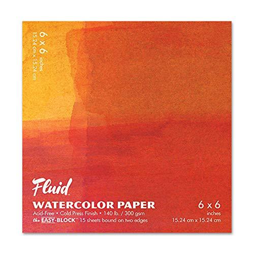 Fluid Watercolor Cold Press EZ-Block 6X6