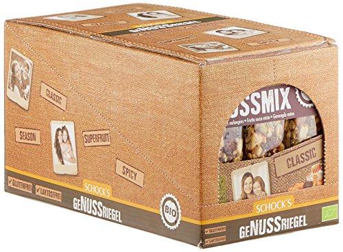 Schock Nussmix-Honig 3er Multipack, 15er Pack (15 x 75 g) - Bio