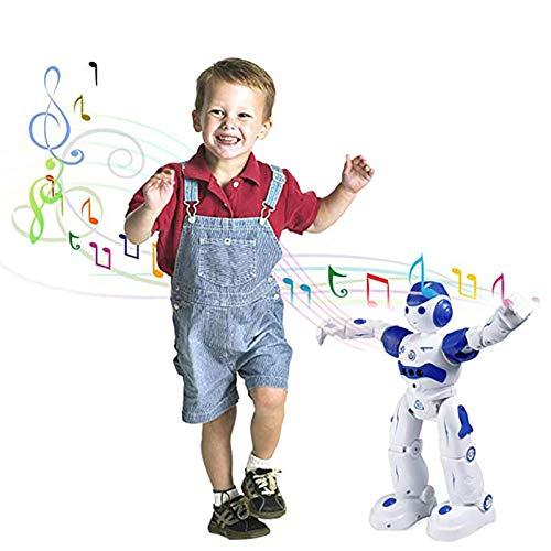 Ljourney Roboter Spielzeug Für Kinder, RC Und Geste Steuerung, Aufladen Mit USB-Kabel,Singender Und Tanzender Roboter, Programmierung Ferngesteuerter Roboter Geburtstags Innenspielzeug