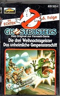 Ghostbusters Den verkliga MC Höspelkassetten 6. Följa: De tre julspökarna