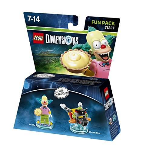 Lego Dimensions - The Simpsons - Krusty Fun Pack by Warner Bros. Interactive Entertainment