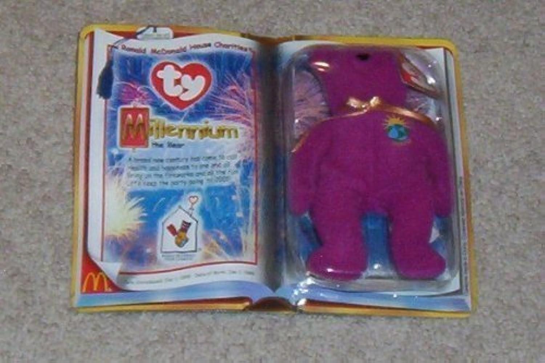 Ty Mcdonalds Teenie Beanie Millenium the Bear by Ty