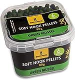 Browning Soft Hook Pellets Green Mussel Ø8mm 80g, x, 8 mm
