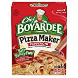 You'll love family pizza night thanks to the Chef Boyardee Pepperoni Pizza Maker You'll love the taste of real pepperoni, cheese, and Italian flavored tomato sauce in the chef Boyardee pepperoni pizza maker When everyone is hungry and bored, reach fo...
