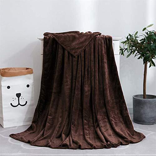 Manta De Sofá Blanket Manta Suave Y Cálida De Franela Sólida con Peso, Textiles para El Hogar De Lujo Sofá Cama, Colcha, Mantas Decorativas, 100X140 Cm