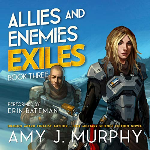 Exiles Audiobook By Amy J. Murphy cover art