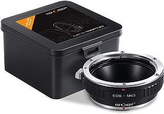 K&F Concept Adaptador para Montar Lentes Canon EF EF-S Mount a cuerpos de cámara Micro Cuatro Tercios (M4/3)