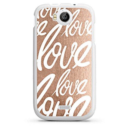 DeinDesign Wiko Cink Peax 2 Hülle Silikon Case Schutz Cover Love Sprüche Liebe