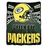 Green Bay Packers Plush Raschel Throw