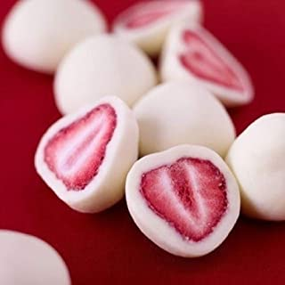 Andy Anand Chocolate Greek Yogurt Covered California Strawberry Wholesale Bulk, For Birthday, Valentine Day, Gourmet Christmas Holiday Food Gifts, Thanksgiving, Mothers Fathers Day, Weddings (5lbs)