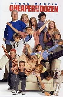 Pop Culture Graphics Cheaper by The Dozen Poster Movie B 11x17 Steve Martin Bonnie Hunt Tom Welling Hilary Duff