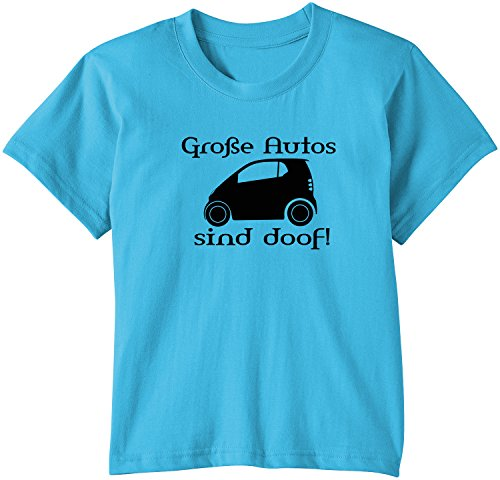 Touchlines Kinder T-Shirt Große Autos sind doof!, Swimming Pool, 134/146, KID259