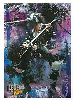 Gene Simmons trading card Kiss The Legend 2010 #15