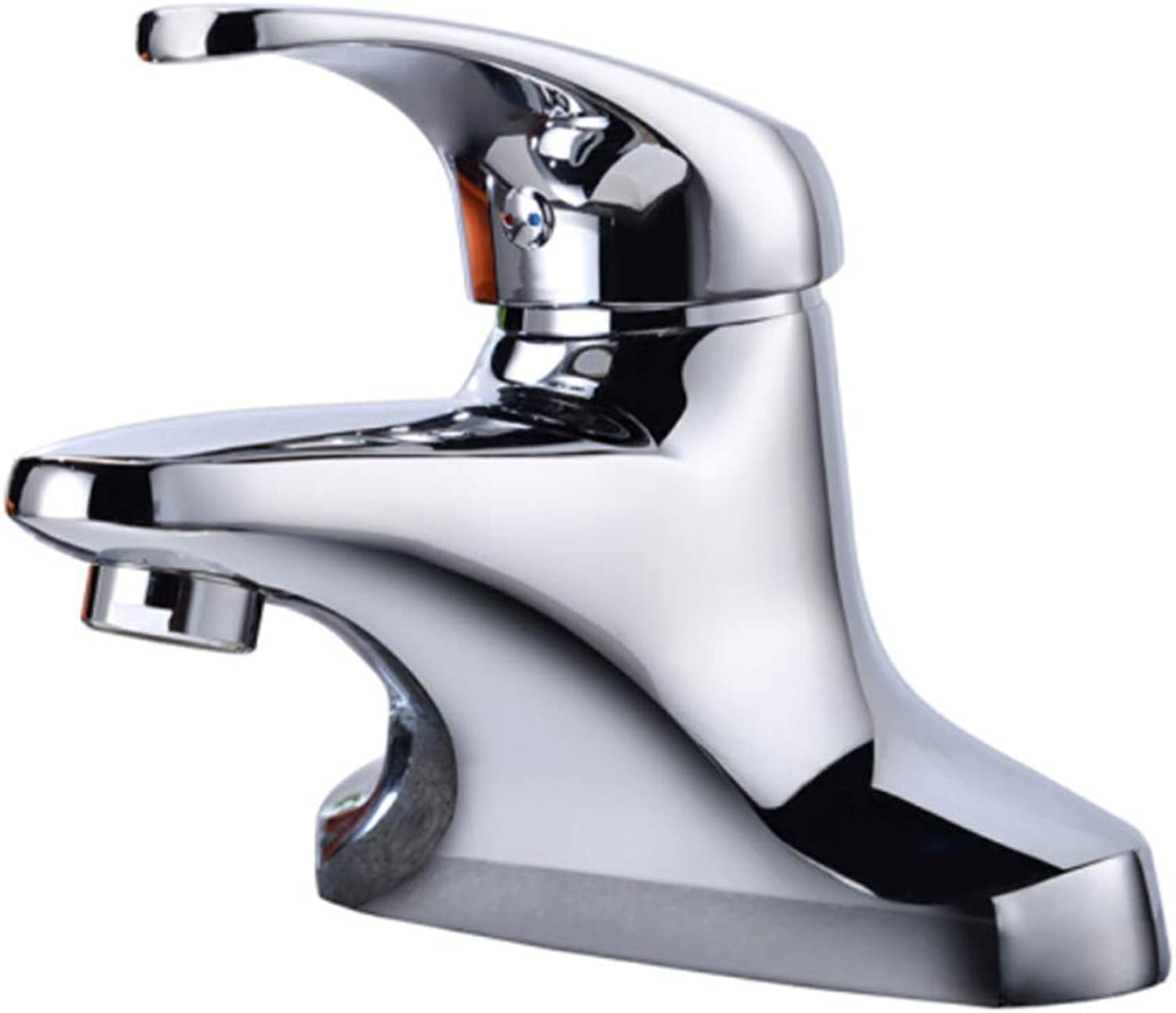 Pull Out The Pull Down Stainless Steelbasin Hot and Cold Dual Hole Faucet Basin Faucet Faucet