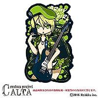 CALTA-ステッカーARMY GIRL (2.Mサイズ)