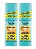 L'oréal Paris Magic Retouch Racines Foncées Blond Clair 75 Ml - Lot De 2