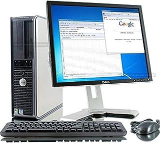 كمبيوتر مكتبي بتصميم رفيع من ديل (3 جيجابايت، ذاكرة مؤقتة 6 ام، ذاكرة رام 4 جيجابايت، هارد 250 جيجابايت، شاشة ال سي دي 19 ...