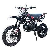 X-PRO 125cc Dirt Bike Pit Bike Adults Dirt Pit Bike 125 Dirt Bike Dirt Pitbike,Red